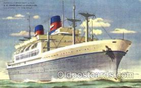 shi009085 - S.S. President Cleveland Steamer Ship Ships Postcard Postcards