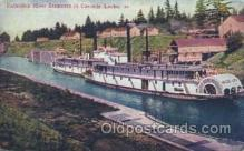 shi009089 - Columbia River Steamers Steamer Ship Ships Postcard Postcards