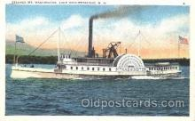shi009093 - Steamer Mt. Washington   Steamer Ship Ships Postcard Postcards