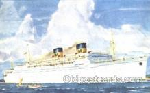 shi009096 - Matson Lines Luxury Liner Lurline Steamer Ship Ships Postcard Postcards
