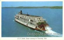 shi009099 - S.S. Delta Queen Steamer Ship Ships Postcard Postcards