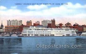 shi009103 - Steamer Admiral Steamer Ship Ships Postcard Postcards