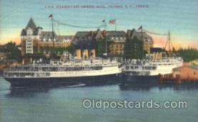 shi009112 - C.P.R. Steamers Steamer Ship Ships Postcard Postcards
