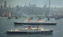 shi009128 - S.S. United States & S.S. America Steamer Ship Ships Postcard Postcards