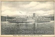 shi009129 - Steamer Robert Fulton Steamer Ship Ships Postcard Postcards