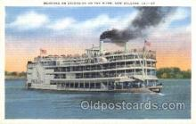 shi009131 - Steamer Excursion Steamer Ship Ships Postcard Postcards