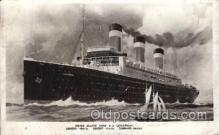 shi009135 - S.S. Leviathan United States Line, Lines, Ship Ships Postcard Postcards