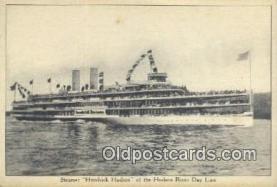 shi009167 - Steamer Hendricks Hudson, River Day Line, New York City, New York, NY USA Steam Ship Postcard Post Cards