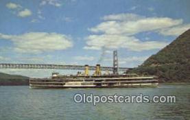 shi009171 - Hudson River Day Liner, New York City, New York, NY USA Steam Ship Postcard Post Cards