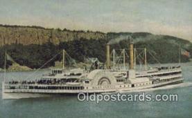shi009189 - Steamboat Mary Powell, Albany, New York, NY USA Steam Ship Postcard Post Card