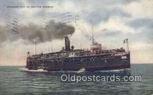 shi009199 - Steamer City Of Benton Harbor Steam Ship Postcard Post Cards
