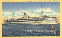 shi009200 - Steamer Avalon, Santa Catalina, California, CA USA Steam Ship Postcard Post Cards