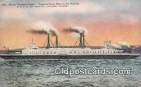 shi009202 - Ferry Contra Costa Steam Ship Postcard Post Cards