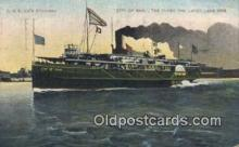 shi009205 - City Of Eire Steam Ship Postcard Post Cards