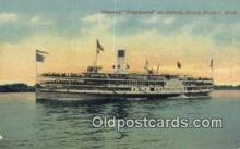 shi009220 - Steamer Greyhound, Toledo, Ohio, OH USA Steam Ship Postcard Post Cards