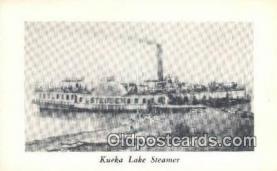shi009223 - Kueka Lake Steamer, Brooklyn, New York, NY USA Steam Ship Postcard Post Cards