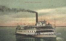 shi009229 - Steamer City Of Jacksonville Steam Ship Postcard Post Cards