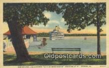 shi009230 - New Wilson Line Steamer, City OF Washington, Mount Vernon, Virginia, VA USA Steam Ship Postcard Post Cards