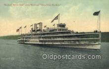 shi009233 - Hudson River Day Line Hendricks Hudson, New York, NY USA Steam Ship Postcard Post Cards