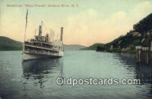 shi009234 - Steamboat Mary Powell, Hudson River, New York, NY USA Steam Ship Postcard Post Cards