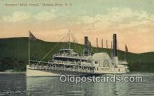 shi009235 - Steamer Mary Powell Hudson River, New York, NY USA Steam Ship Postcard Post Cards