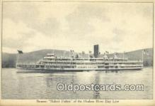 shi009237 - Steamer Robert Fulton, Hudson River, New York, NY USA Steam Ship Postcard Post Cards