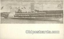 shi009238 - Hudson River Day Line, New York, NY USA Steam Ship Postcard Post Cards