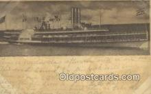 shi009239 - Hudson River Day Line, New York, NY USA Steam Ship Postcard Post Cards