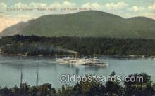 shi009245 - Day Line Steamer Robert Fulton, Hudson, River, NY USA Steam Ship Postcard Post Cards