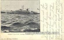 shi009250 - Steamer New York, Coxsackie, New York, NY USA Steam Ship Postcard Post Cards