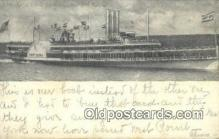 shi009251 - Hudson River Day Line, New York, NY USA Steam Ship Postcard Post Cards