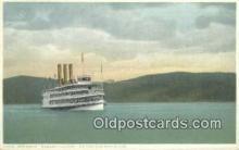 shi009252 - Steamer Robert Fulton, Hudson River, New York, NY USA Steam Ship Postcard Post Cards