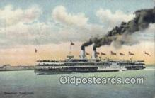 shi009260 - Steamer Tashmoo Steam Ship Postcard Post Cards