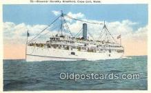 shi009262 - Steamer Dorothy, Cape Cod, Massachusetts, MA USA Steam Ship Postcard Post Cards
