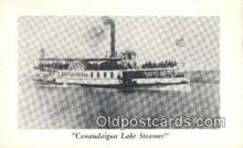 shi009264 - Canandaigua Lake Steamer Steam Ship Postcard Post Cards