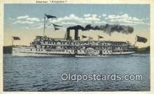 shi009272 - Steamer Kingston Steam Ship Postcard Post Cards