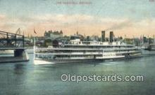 shi009275 - The Hendricks Hudson, New York, NY USA Steam Ship Postcard Post Cards