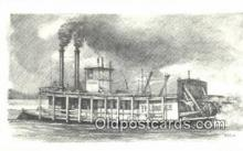 shi009282 - The Riverboat Klondike, Wheeling, West Virginia, VA USA Steam Ship Postcard Post Cards