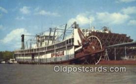 shi009283 - The Showboat, Prague, Vicksburg, Mississippi, MS USA Steam Ship Postcard Post Cards