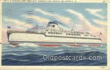 shi009286 - The SS Princess Anne Ferry Boat, Norfolk, Virginia, VA USA Steam Ship Postcard Post Cards