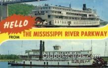 shi009288 - SS Mississippi And The SS Delta Queen Steam Ship Postcard Post Cards