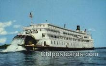 shi009293 - The SS Delta Queen On The Ohio, River, Ohio, OH USA Steam Ship Postcard Post Cards
