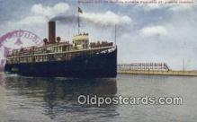 shi009297 - Steamer City Of Benton Harbor Steam Ship Postcard Post Cards