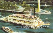 shi009300 - The New Gateway Clipper Steam Ship Postcard Post Cards