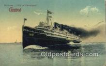 shi009303 - Steamer City Of Cleveland Steam Ship Postcard Post Cards