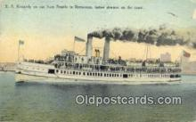 shi009319 - SS Kennedy, Seattle, Washington, WA USA Steam Ship Postcard Post Cards