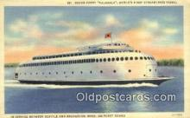 Motor Ferry, Kalakala, Bremerton, WA USA