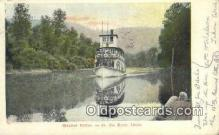 shi009325 - Steamer Colfax, St Joe River, Idaho, ID USA Ferry Postcard Post Card Old Vintage Antique