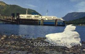 shi009339 - MV Taku, Alaska, AK USA Steam Ship Postcard Post Cards