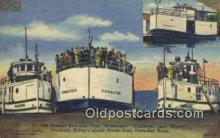 shi009345 - The Nueman Boat Line Fleet, Commuter And Mascol, Sandusky, Kellys Island Steam Ship Postcard Post Cards